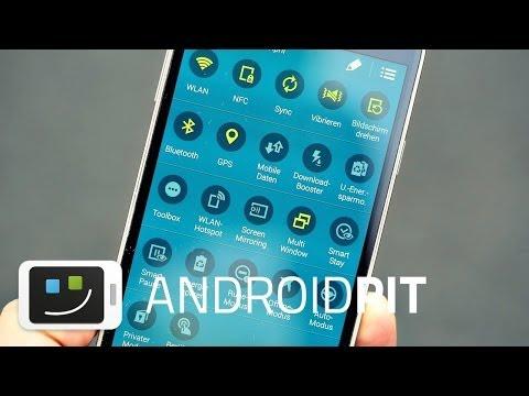 Samsung Galaxy S5 einrichten und personalisieren [TEST]