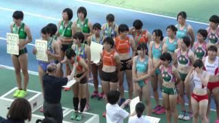 20160618関東高校総体女子400mR北関東表彰式