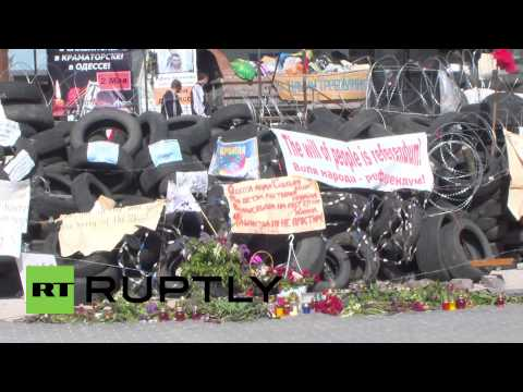 Ukraine: Donetsk's Voice of the People hits news-stands ahead of referendum