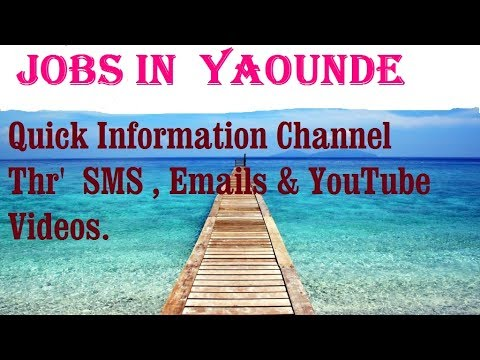 Jobs in  YAOUNDE      for freshers & graduates. industries, companies.  CAMEROON