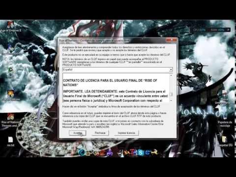 [Solucion] Rise of Nations problema 256 colores netbook [y otros juegos][2013][windows 8 y 7]