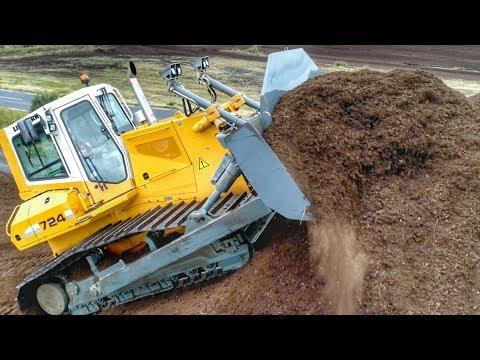 Peat Harvesting in Ireland