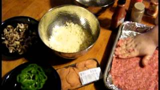 Keto Cooking How To Make A Gluten Free Meatza Pizza