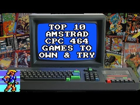 Top 10 Amstrad CPC 464 Games... that you need to own or start with!