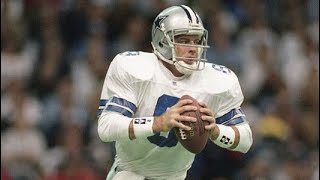 Troy Aikman throws 5 td passes against redskins
