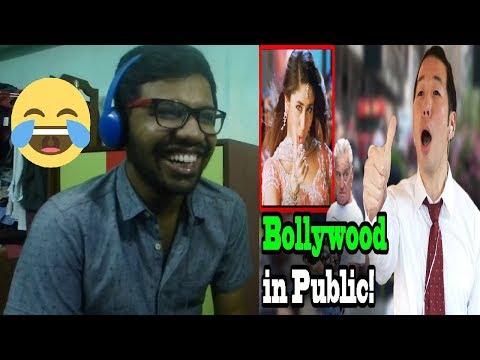 Q PARK - BOLLYWOOD SONGS IN PUBLIC!! (Bole Chudiyan, Khalibali) |Reaction & Thoughts