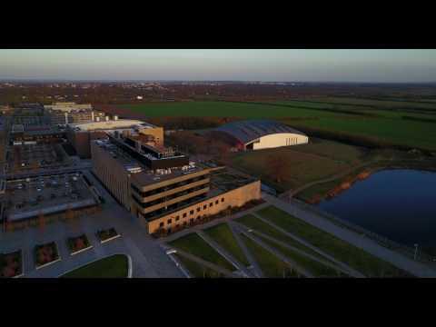 DJI Mavic West Cambridge site fly over