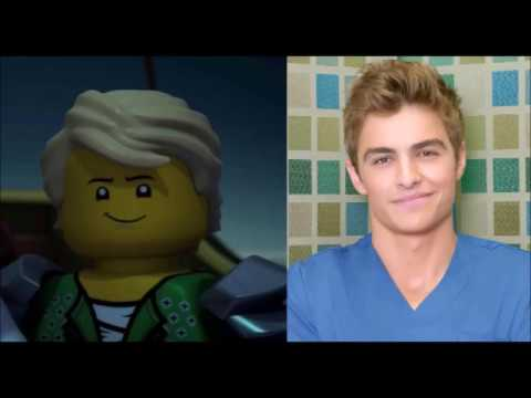 Ninjago Movie Voice Cast Impresions - YouTube