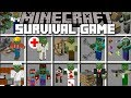 Minecraft ZOMBIE SURVIVAL GAMES / FIGHT AND SURVIVE THE HOUSE OF GAMES!! Minecraft