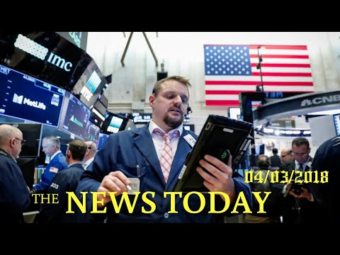 Wall Street Edges Up As Investors Eye Key Support Levels | News Today | 04/03/2018 | Donald Trump