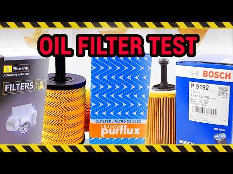 Bosch Vs Purflux Vs Starline - Oil Filter Comparison