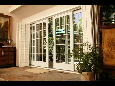 Exceptionnel Wooden Patio Doors