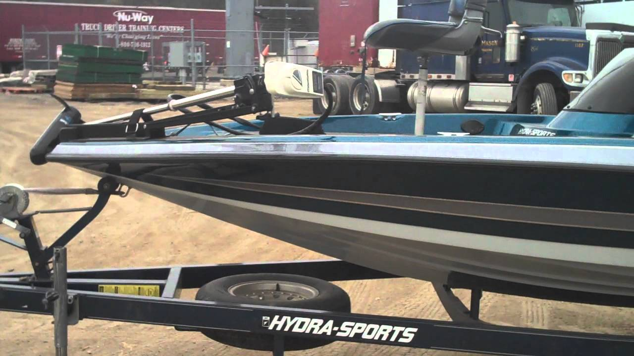 1997 Hydrasport 175e 17 Bass Boat Youtube