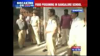 Banglore: Food poisoning in Government school