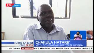 Watu wapitao 52 wamelazwa kwenye hospitali ya Longisa baada ya kula nyama isyokuwa salama