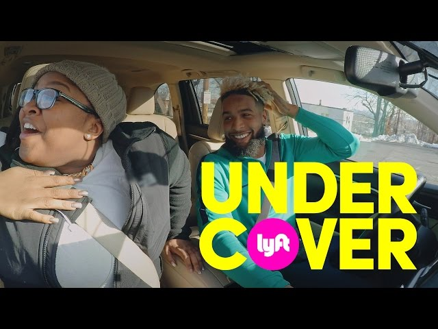 Undercover Lyft with Odell Beckham Jr.