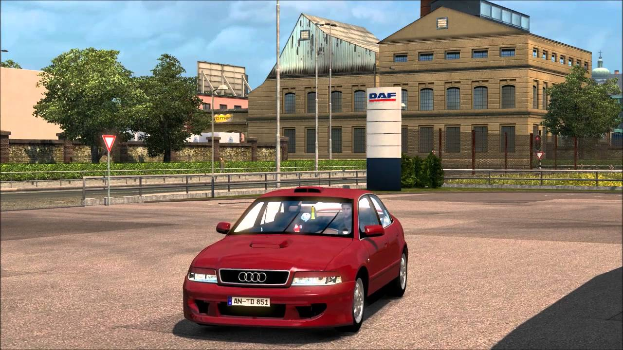 Ets2 V122 Audi A4 Beta V05 Youtube