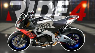 RIDE 4: Aprilia Tuono V4 MODIFICATA - 208 CV