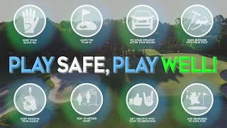 Golf is now open for play in all states and territories across Australia. PLAY SAFE. PLAY WELL.