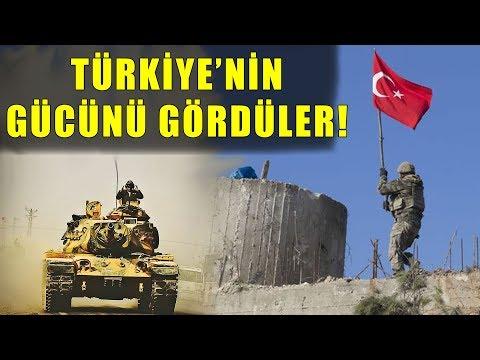 Türkiye, Gücünü Ortaya Koydu! Dengeleri Değiştirdi!