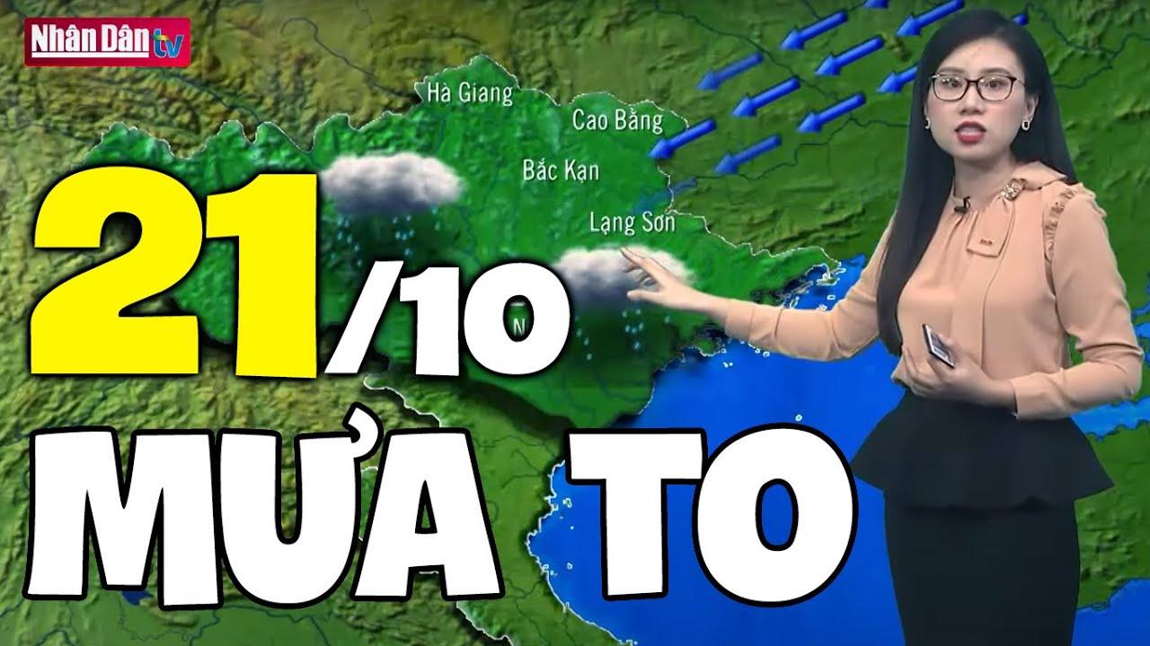 Download Dự báo thời tiết hôm nay và ngày mai 21/10   Dự báo thời tiết đêm nay mới nhất