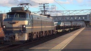 ♯18【鉄道】JR貨物 EF66-27牽引8091レ日鐵チキ返空