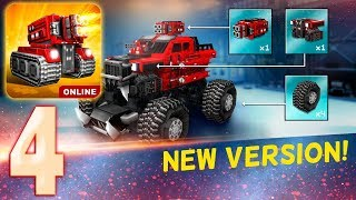 New Update 7.1.0 - Blocky Cars Online screenshot 2