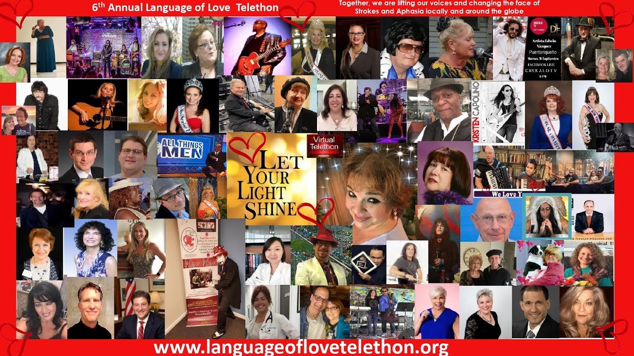 2020 Virtual Language of Love ( Stroke and Aphasia )Telethon Opening -
