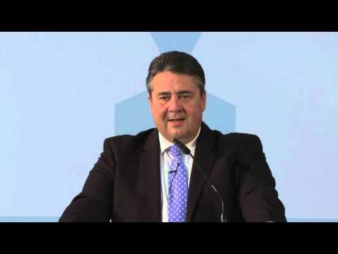 """""""Wirtschaft für Morgen"""" - Sigmar Gabriel im Gespräch mit Elon Musk (Originalton)"""