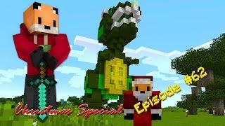 Minecraft Survival - Jack's Xmas T-Rex Part 4 [62]