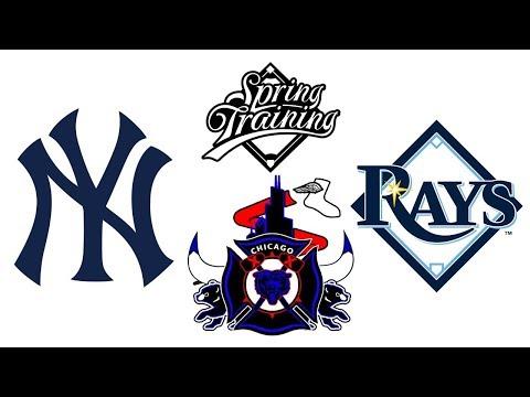 New York Yankees VS Tampa Bay Rays Spring Training Game - Live Play-By-Play & Live Reaction