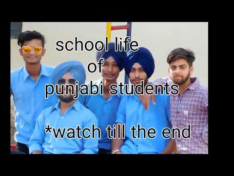 School Ki Yaadein(school life of Punjabi students)