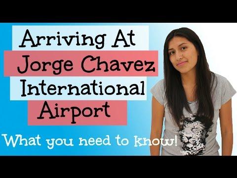 Arriving At Jorge Chavez International Airport (Video 11)