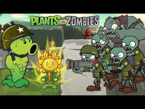 New Plants Vs Zombies Best PVZ Animation - Primal Cartoon Anime Video PVZ