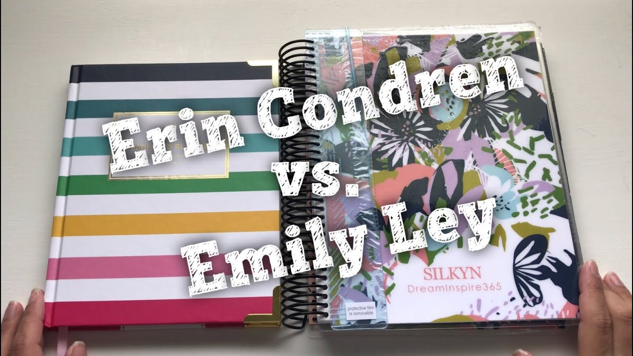 graphic regarding Simplified Planner Reviews referred to as Erin Condren vs. Emily Ley the simplified Planner 2019