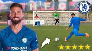 FOOTBALL CHALLENGE vs OLIVIER GIROUD (Chelsea FC)