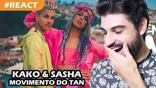 Baixar Kako Ferreira, Sasha Zimmer - Movimento do Tan (REACT) | Reação e comentários