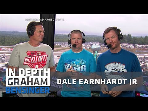 Dale Earnhardt Jr. on broadcasting