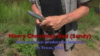 Merry Christmas Dad (sandy), From Your Pre-production Jacklore In Texas, Usa