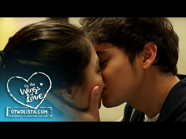 On The Wings Of Love Outtake: Clark and Leah's Most Approved Kiss in On The Wings Of Love