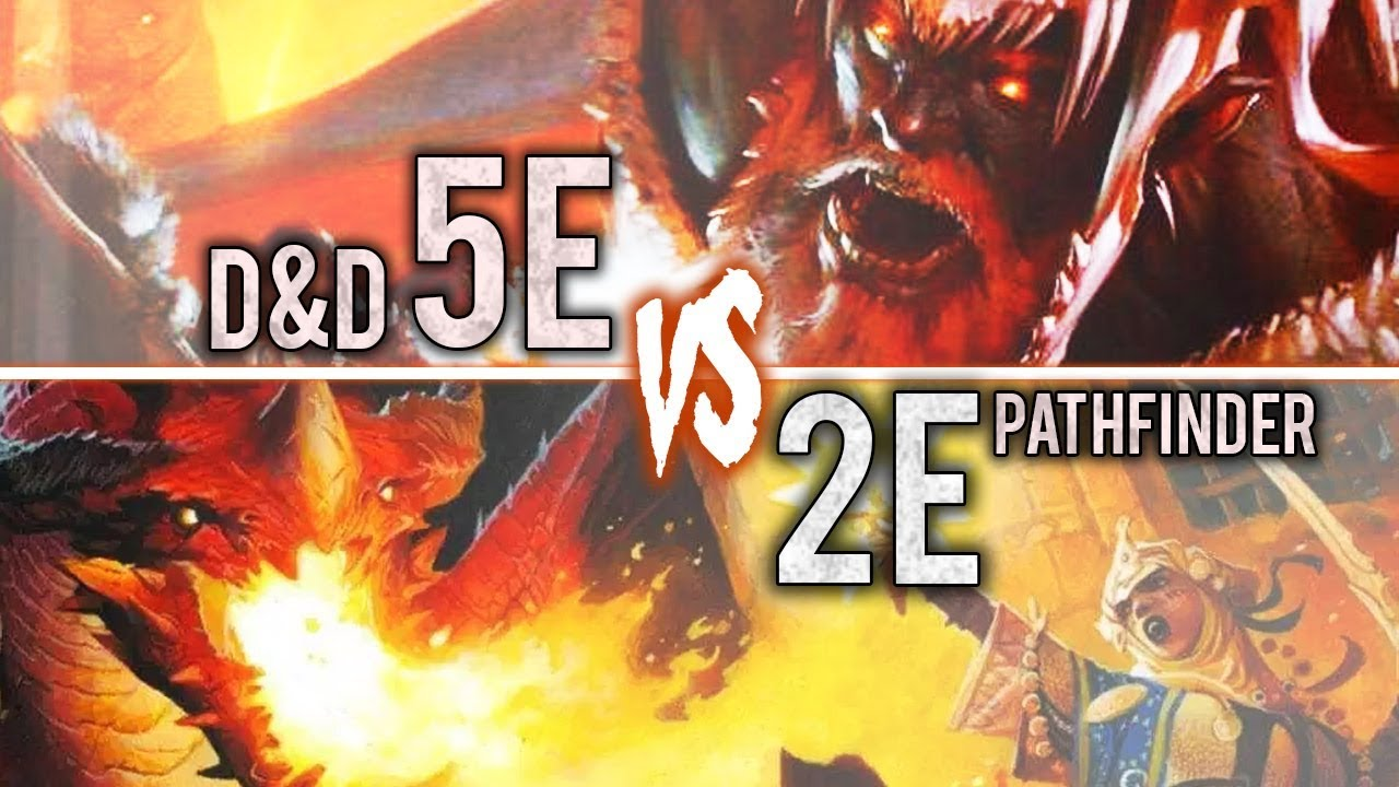 5e Players: At Least TRY Pathfinder 2e!