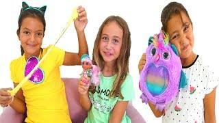 Family Fun Game for Kids with surprise toys