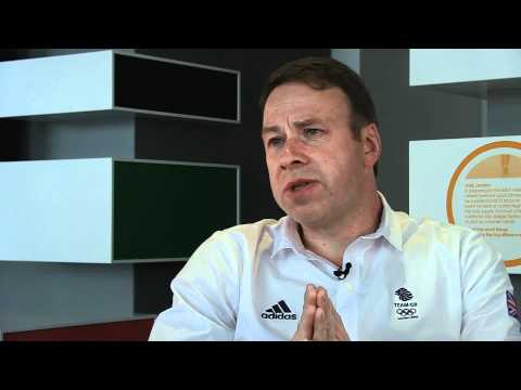 Team GB Chef de Mission Andy Hunt interviewed with 1 month to go until London 2012