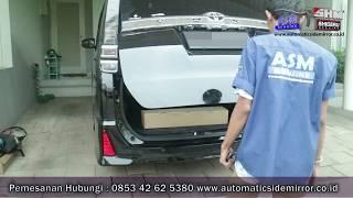 Toyota Voxy Cara Pasang Power Back Door Dengan Kick Sensor