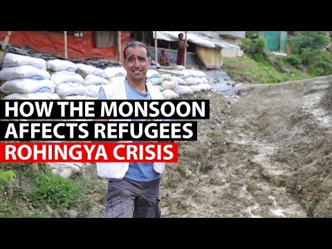 ROHINGYA CRISIS | The risks of monsoon season for refugees