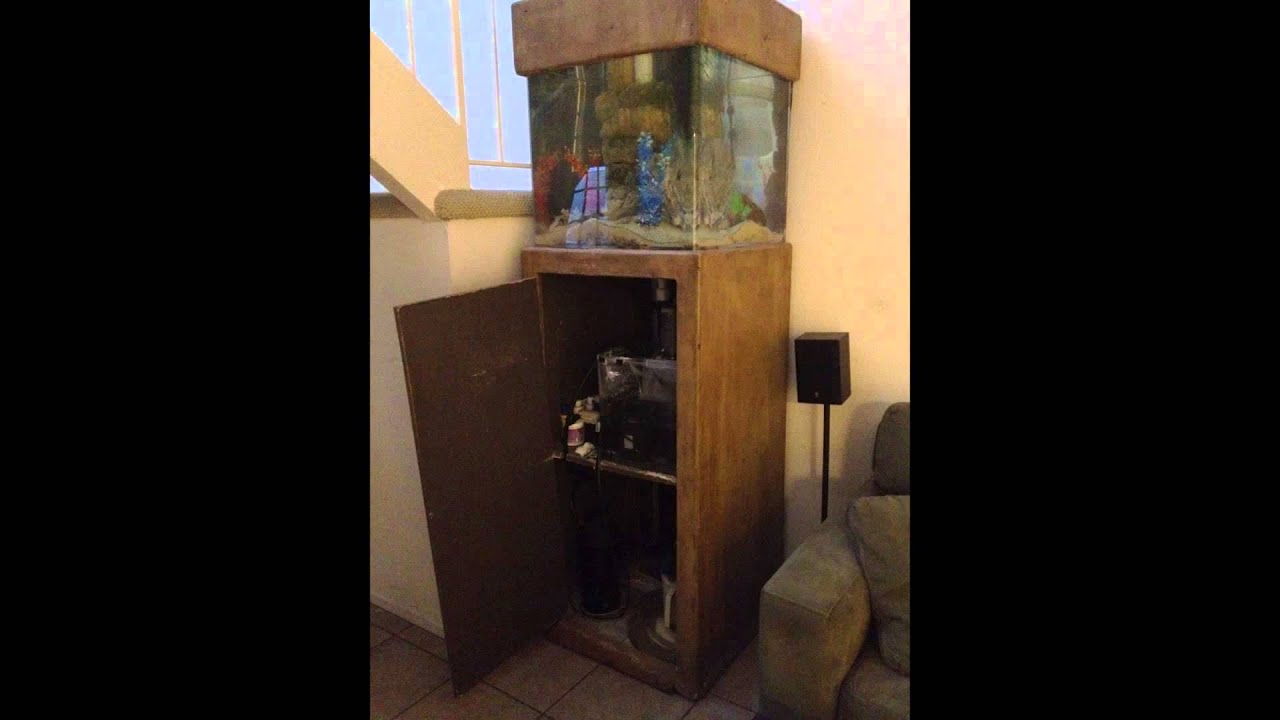 How To Restore A Fish Tank Stand