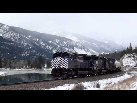 Railfanning the Montana Rail Link