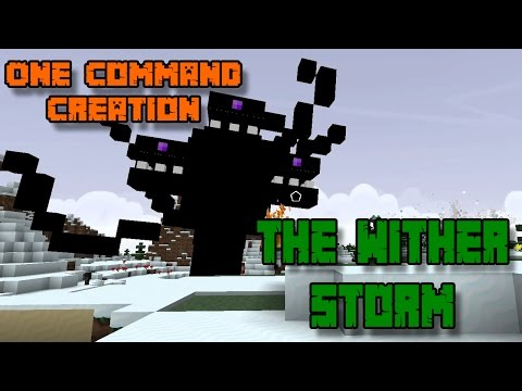 THE WITHER STORM | One Command Block Creation: Minecraft