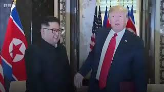 Trump and Kim meeting in Singapore
