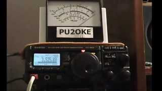 homebrew g5rv jr qrp by pu2oke